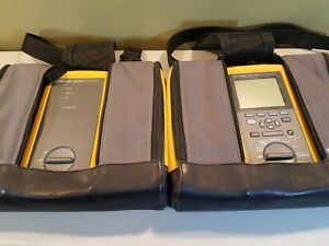 Fluke Dsp 100 Dsp100 Lan Cable Meter And Dsp 100sr Smart Remote Dsp100sr