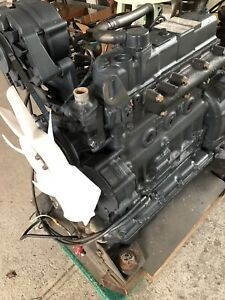 Yanmar 4 Cylinder Direct Injection Engine With Compressor