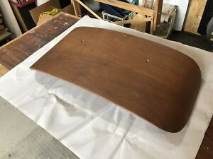 Herman Miller Eames Lounge Chair Walnut Original Molded Plywood Head Rest