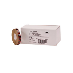 Scotch Atg Adhesive Transfer Tape 976 Clear 0 25 In X 60 Yd