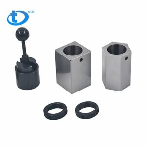 High Quality New 5c Collet Block Set Square Hex Rings Collet Closer