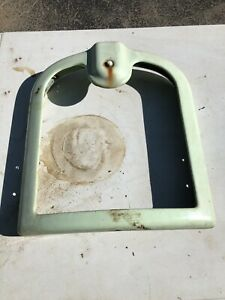 Koken Barbershop Chair Back Rest Paider Porcelain Kochs Barber Vtg Parts Paidar