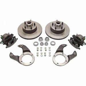 Ford Motors Disc Brake Conversion Kit 1928 1948 Ford Hotrod Ratrod Street Brakes