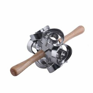 Kitchen Revolving Donut Cutter Cake Molding Machines Baking Tools Metal Maker