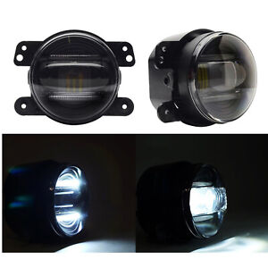 4 Inch 30w Led Fog Light Driving Lamp Drl For 2007 2015 Jeep Wrangler Jk Cj Tj