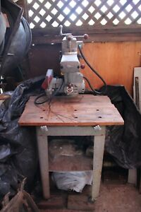 Delta Model 10 Radial Arm Saw Used Very Little With Original Stand