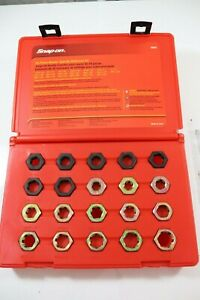 Snap On 20 Pc Master Spindle Rethreading Set Rd20