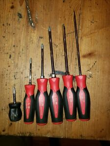 Snap on Soft Grip Combination Screwdriver Set
