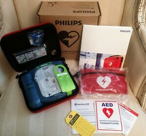 Brand New Philips Heartstart Onsite Hs1 Aed M5066a W Cpr Kit