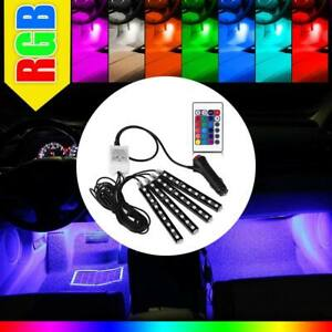 36 Led Car Charge Interior Accessories Floor Decorative Atmosphere Lamp Light Us