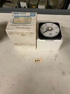 New Yokogawa Dc Volt Meter 2600v 2500rpm Part 2101 02 Eil Instruments 0 1 Madc