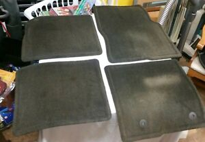 Oem 2013 2014 Ford F 150 Black King Ranch Crew Cab Floor Mats Set Of 4