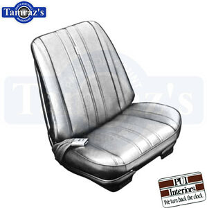 1968 Chevy Ii Nova Front Seat Covers Upholstery Pui New