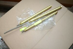 Clippard 6 Inch Stroke 3 4 Inch Bore Brass Pneumatic Air Cylinder Lot Of 3