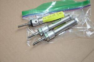 Clippard Sdr08 1 2 Inch Stroke 1 2 Inch Bore Pneumatic Air Cylinder Lot Of 3