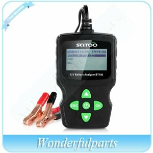12v Lcd Vehicle Digital Battery Test Analyzer Diagnostic Tool Automotive Bt100