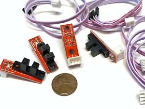 4 Pieces Optical Endstop Limit Switch Ramps 1 4 Board 3d Printer 3pin Cable A27