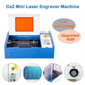 40w Laser Engraver Cutting Machine Digital Current Display Upgraded 12 8