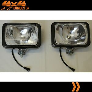 Ipf 800xs Waterproof Driving Spot Lights Wiring Loom Clear Covers Combo Pack