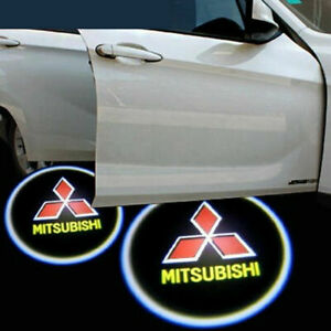 Car Door Courtesy Lamp Led Projector Ghost Shadow Welcome Lights For Mitsubishi
