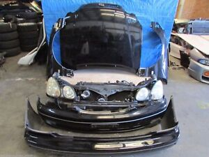 Jdm 98 05 Toyota Aristo Lexus Gs300 Jzs161 Front Nose Cut Bumper Hood Headlight