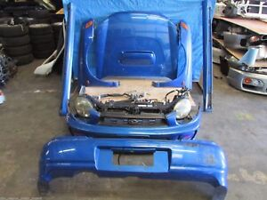 Jdm Subaru Impreza Wrx Sti Front End Bugeye Nose Cut Conversion Headlights Hood