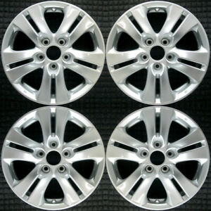 Set 2011 2012 Honda Accord Oem Factory 42700ta0a92 16 Silver Wheels Rims 64014