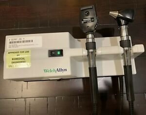 Welch Allyn 767 Integrated Wall System 11710 25020a A Condition Zero Yellowing