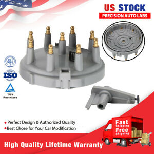 Distributor Cap And Rotor Kit 84 97 For Ford Lincoln Mustang F250 F150 302 351w