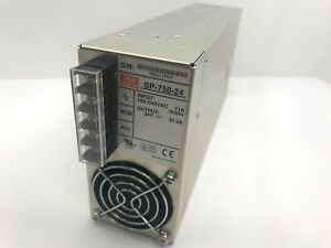Mean Well 24v 750w 31 3a Dc Power Supply Enclosed Sp 750 24