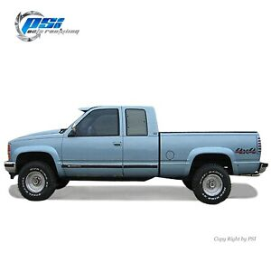 Rugged Fender Flares Paintable Finish Fits Gmc Chevrolet C k 1500 2500 3500