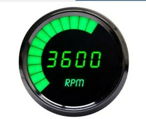 Intellitronix Ms9001g Green Led Digital Tachometer