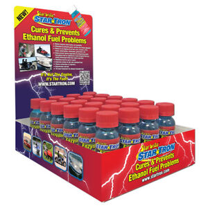 Star Tron Enzyme Fuel Treatment 24 Pack Display Small Engine Formula 1 Oz