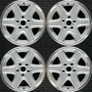 Set 2002 2003 2004 Jeep Liberty Oem Factory 5gl66pakac Silver Wheels Rims 9037