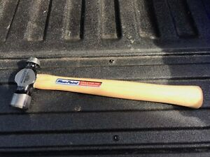 Bluepoint 12oz Ball Pein Hickory Hammer Bp12b Sold On Snap On Van