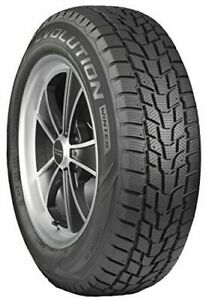 4 New Cooper Evolution Winter Snow Tires 225 75r16 104t