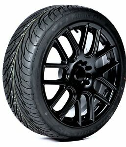 4 New Federal Ss595 Performance Tires 185 55r14 80v