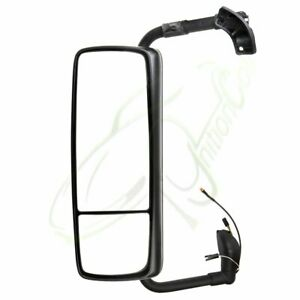 Pair Chrome Mirror Complete Truck Mirrors For 2015 18 Volvo Vnl