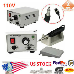 110v High Speed Electric Polisher Machine High Speed W Foot Pedal Switch New