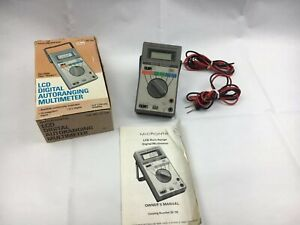 Micronta 22 192 Multimeter Complete In Box