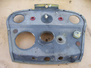 Vintage Ihc International 2444 Tractor dash Panel