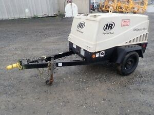 Ingersoll Rand Airsource Plus 185 Towable Air Compressor 62 4 Hp Pre emissions