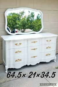 Dressers Chest Of Drawers Antique French Provincial Refinished Bassett
