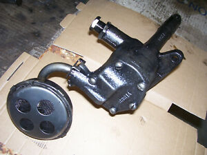 Vintage Ji Case 520 Diesel Tractor 377 Engine Oil Pump 1954