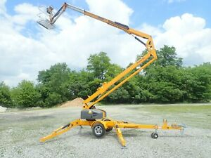 New 2020 Haulotte 5533a Electric Articulating Lift 55 Max Height 33 Max Reach