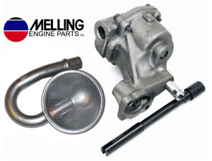 Melling M55 Oil Pump 220s Pickup Screen Drive Shaft For Chevy Sbc 327 350 400