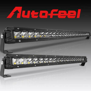 Autofeel Ultra thin 32 Inch 22inch Led Light Bar Spot Flood Combo Offroad