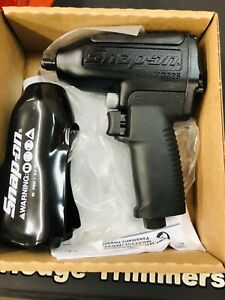 New Rare Snap On Mg325 3 8 Drive Black Metal Super Duty Air Impact Wrench