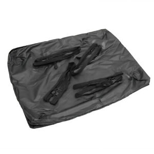 Large 15 Cubic Feet Car Suv Waterproof Roof Top Cargo Bag Carrier W Rail Straps