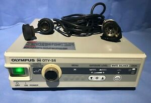 Olympus Otv s6 Video System With Camera Head